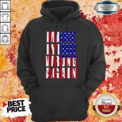 Make Lying Wrong Again American Flag Hoodie-Design By Soyatees.com