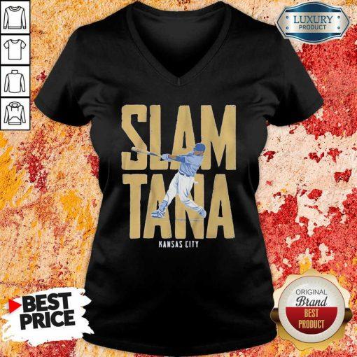 Slamtana Kansas City V-veck-Design By Soyatees.com