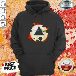 Awesome Snoopy And Friends Watch The Moon Pink Floyd Hoodie-Design By Soyatees.com
