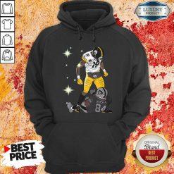 Pittsburgh Steelers JuJu Smith And Oakland Raiders Antonio Brown Hoodie - Desisn By Soyatees.com