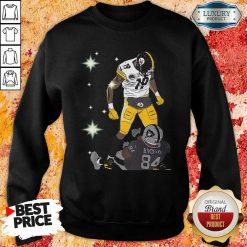 Pittsburgh Steelers JuJu Smith And Oakland Raiders Antonio Brown Sweatshirt - Desisn By Soyatees.com