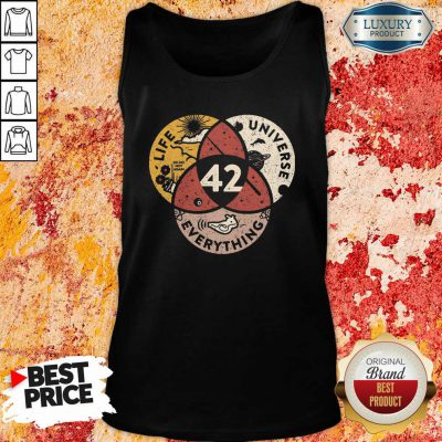 42 The Answer To Life Universe And Everything Tank Top-Design By Soyatees.com