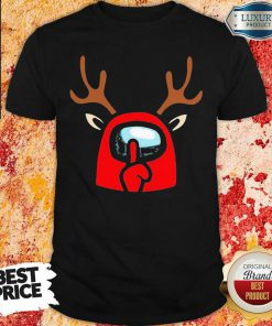Among Us Reindeer Imports Christmas Shirt-Design By Soyatees.com