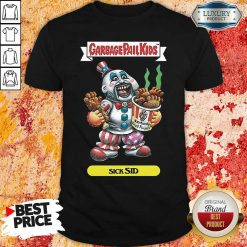 Captain Spaulding Garbage Pail Kids Sick Sid Shirt-Design By Soyatees.com