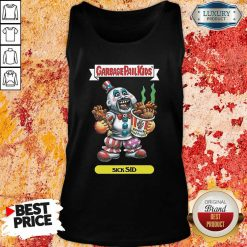 Captain Spaulding Garbage Pail Kids Sick Sid Tank Top-Design By Soyatees.com