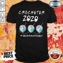 Crocheter 2020 Face Mask Quarantined Shirt-Design By Soyatees.com