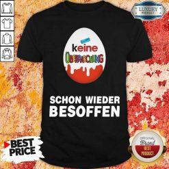 Keine Überraschung Schon Wieder Besoffen Shirt-Design By Soyatees.com