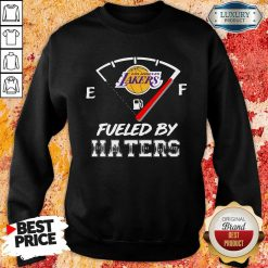 Los Angeles Lakers Nba Basketball Fueled By Haters Sports Sweatshirt-Design By Soyatees.com
