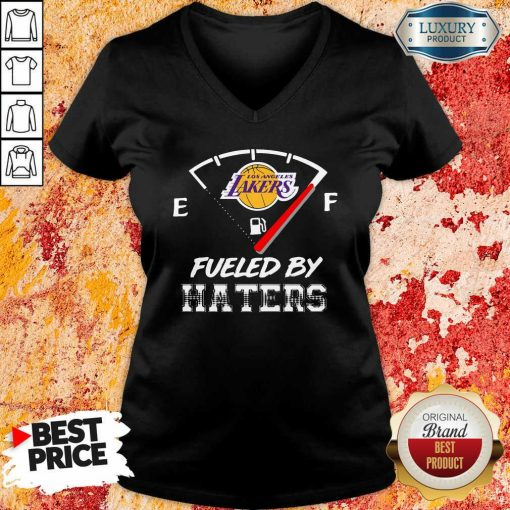 Los Angeles Lakers Nba Basketball Fueled By Haters Sports V-neck-Design By Soyatees.com