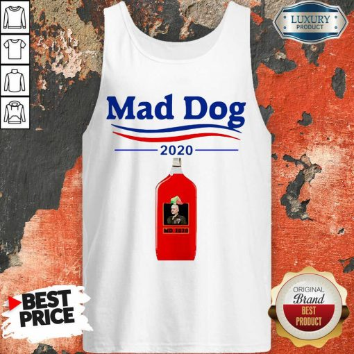 Mad Dog MD 2020 Tank Top - Desisn By Soyatees.com