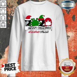 Merry Christmas 2020 Santa Elf Coronavirus Sweatshirt-Design By Soyatees.com