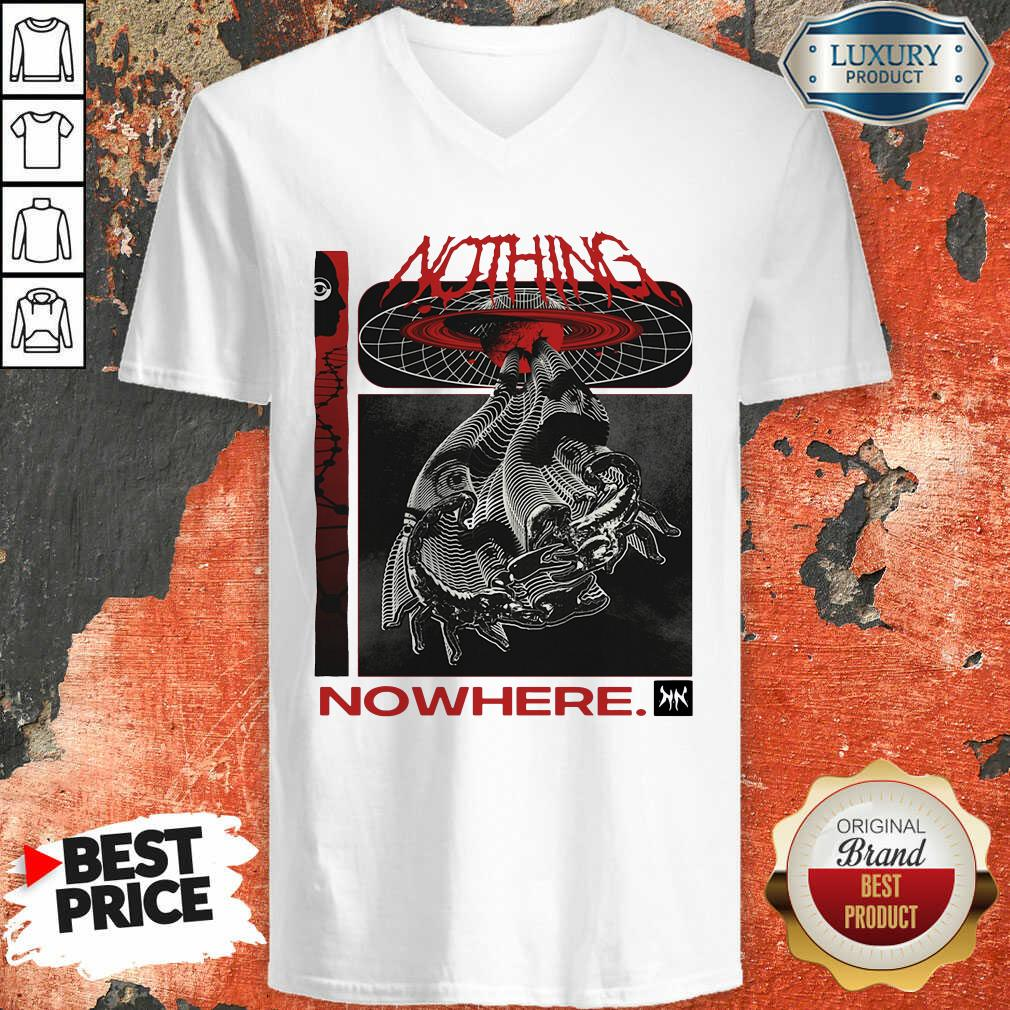 Good Nothing Nowhere Merch V-neck - Desisn By Soyatees.com