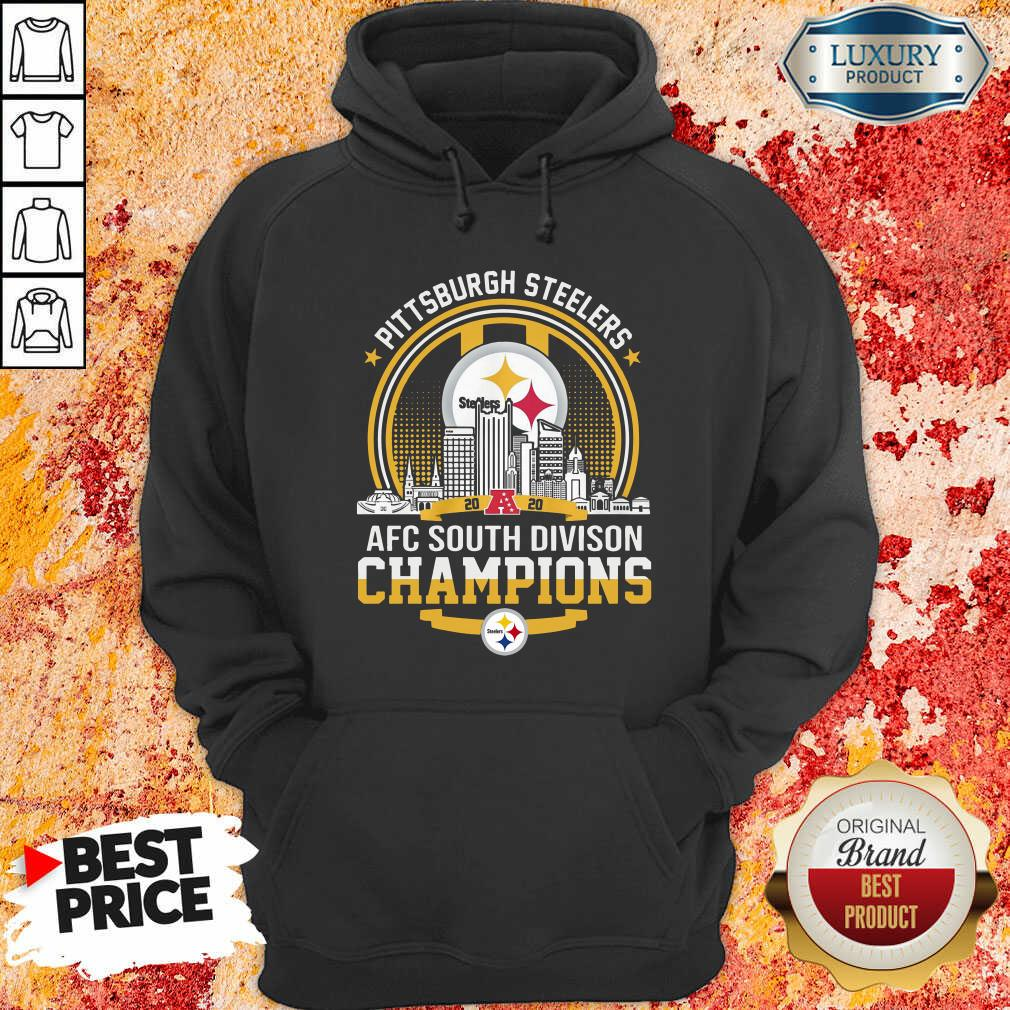 Pittsburgh Steelers 2020 Afc South Division Champions Hoodie - Desisn By Soyatees.com