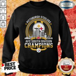 Pittsburgh Steelers 2020 Afc South Division Champions Sweatshirt - Desisn By Soyatees.com