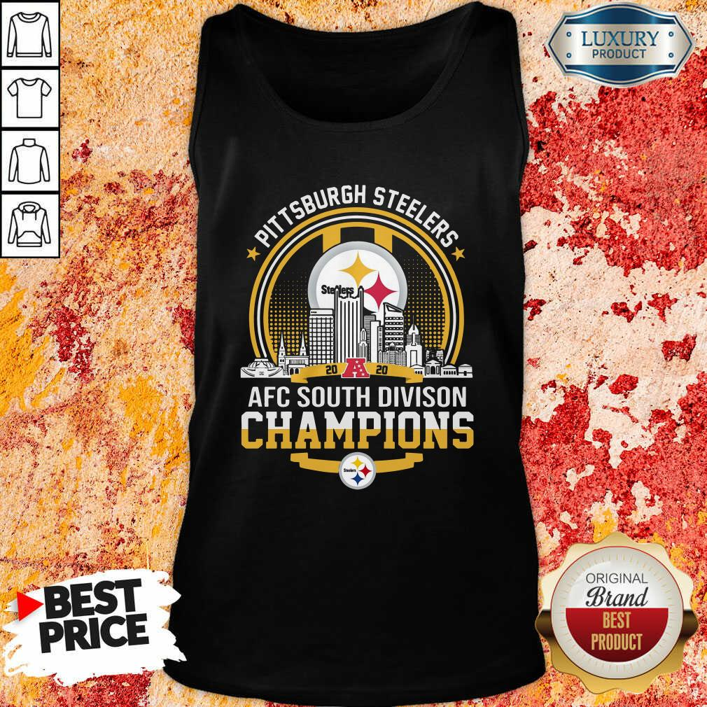 Pittsburgh Steelers 2020 Afc South Division Champions Tank Top - Desisn By Soyatees.com