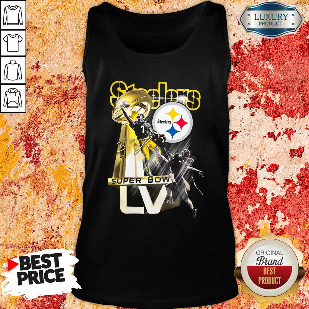 Pittsburgh Steelers Super Bowl Liv Signature Tank Top - Desisn By Soyatees.com
