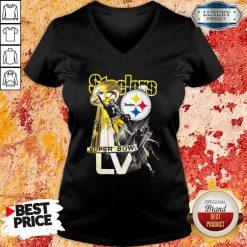 Pittsburgh Steelers Super Bowl Liv Signature V-neck - Desisn By Soyatees.com