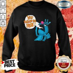 Puppet Monster You Turned The Page Sweatshirt - Desisn By Soyatees.com