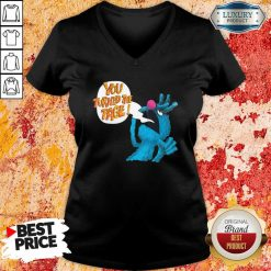 Puppet Monster You Turned The Page V-neck - Desisn By Soyatees.com