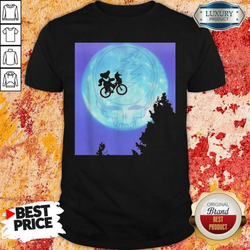 Bear Cycling The Moon Grateful Dead Shirt-Design By Soyatees.com