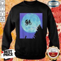 Bear Cycling The Moon Grateful Dead Sweatshirt-Design By Soyatees.com