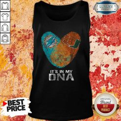 Dolphins Hurricanes It'S In My Dna Heart Fingerprints Tank Top-Design By Soyatees.com