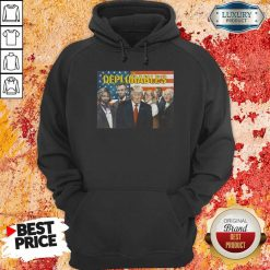 Donald Trump The Deplorables American Flag Hoodie-Design By Soyatees.com