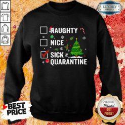 Naughty Nice Sick Of Quarantine 2020 Christmas Sweatshirt-Design By Soyatees.com