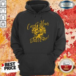 Covid 19 Hair The Chop Shop Don'T Care Hoodie-Design By Soyatees.com