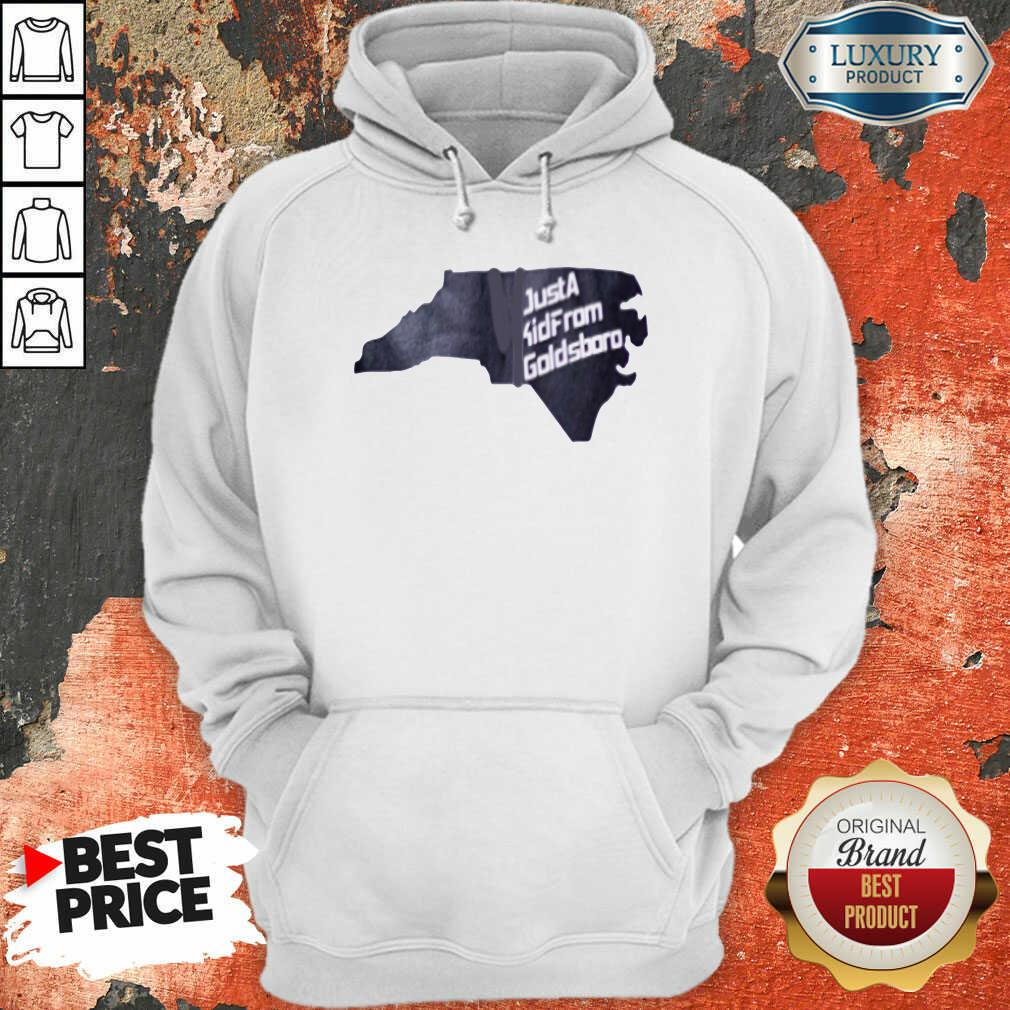 Hot Just A Kid From Goldsboro Hoodie - Desisn By Soyatees.com