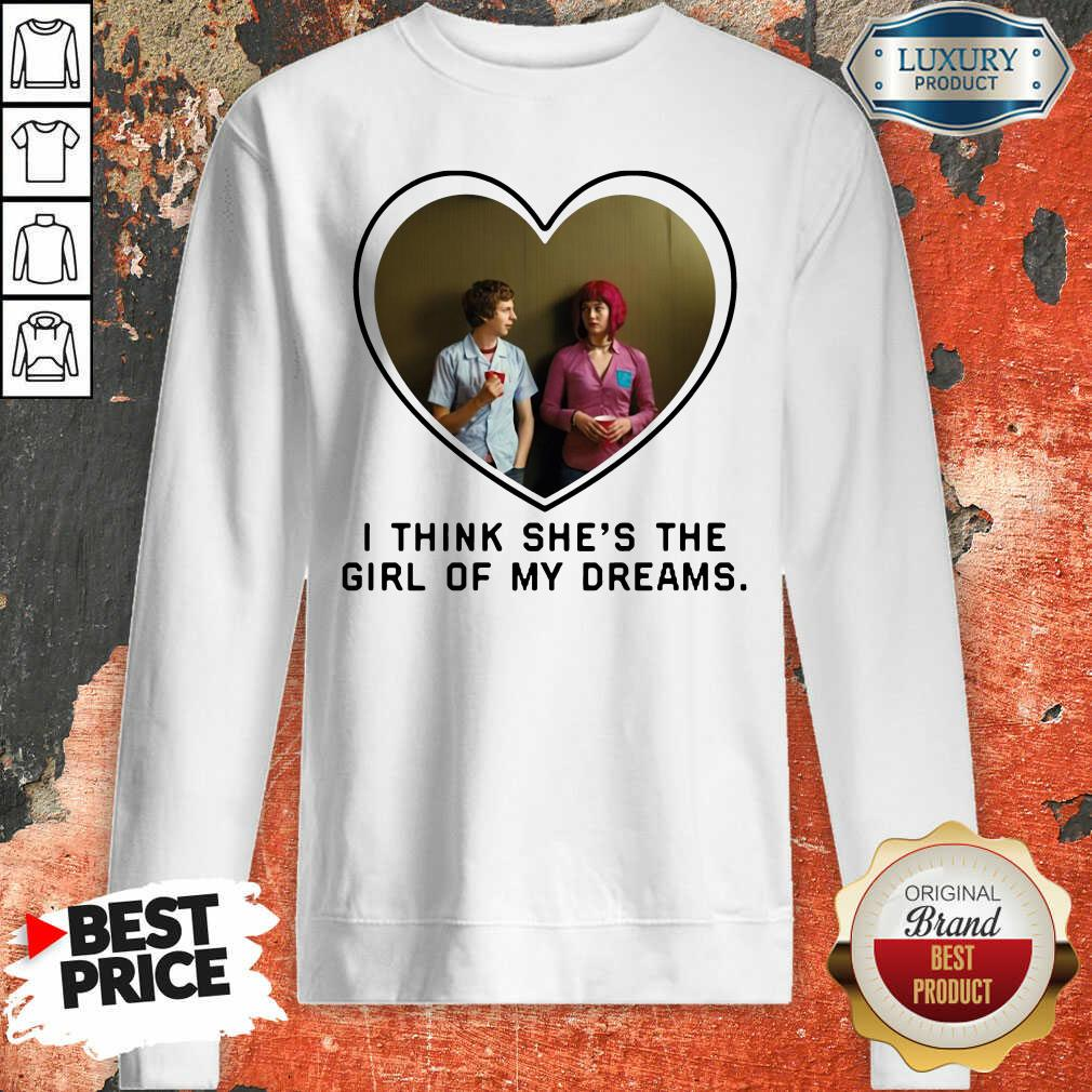 Michael Cera And Mary Elizabeth I Think Shes The Girl Of My Dreams Sweatshirt - Desisn By Soyatees.com