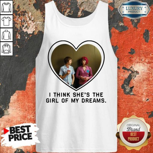 Michael Cera And Mary Elizabeth I Think Shes The Girl Of My Dreams Tank Top - Desisn By Soyatees.com