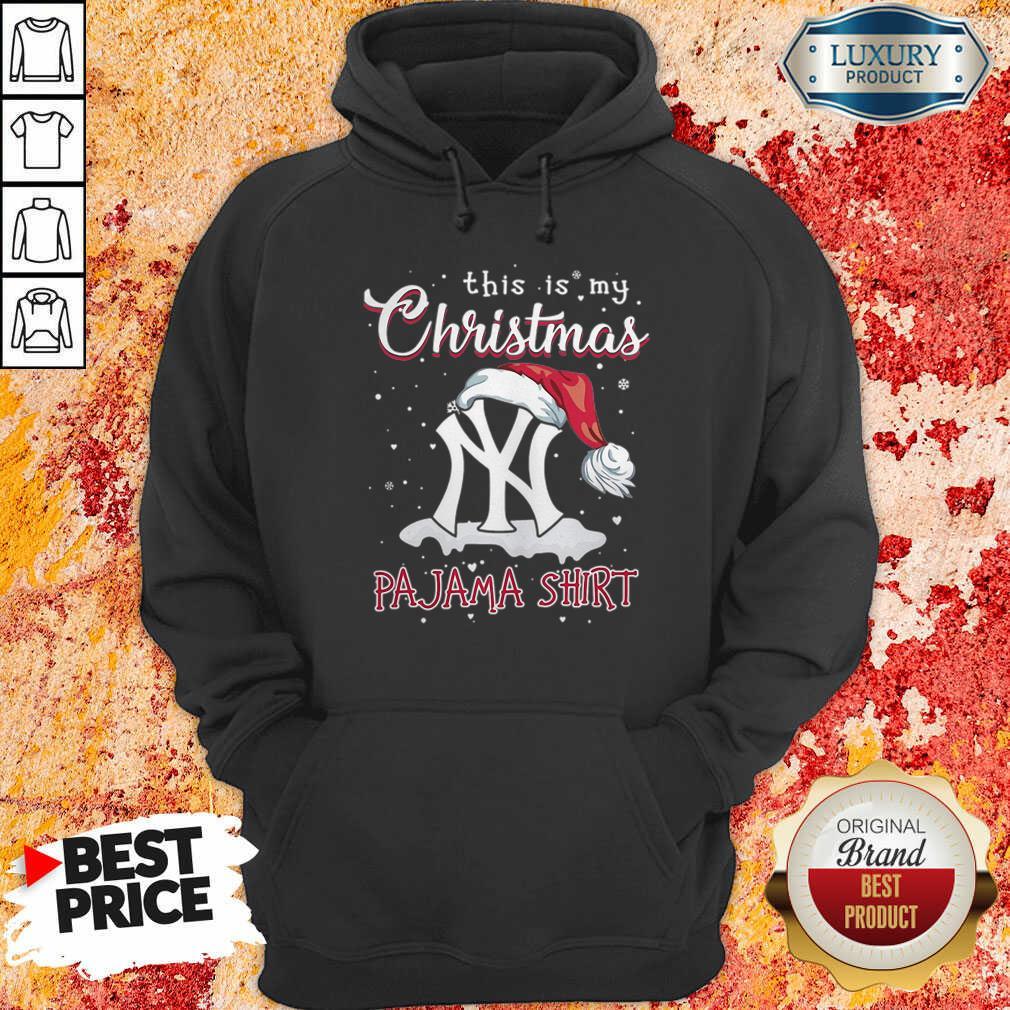 This Is My Christmas Pajama New York Yankees Hoodie-Design By Soyatees.com