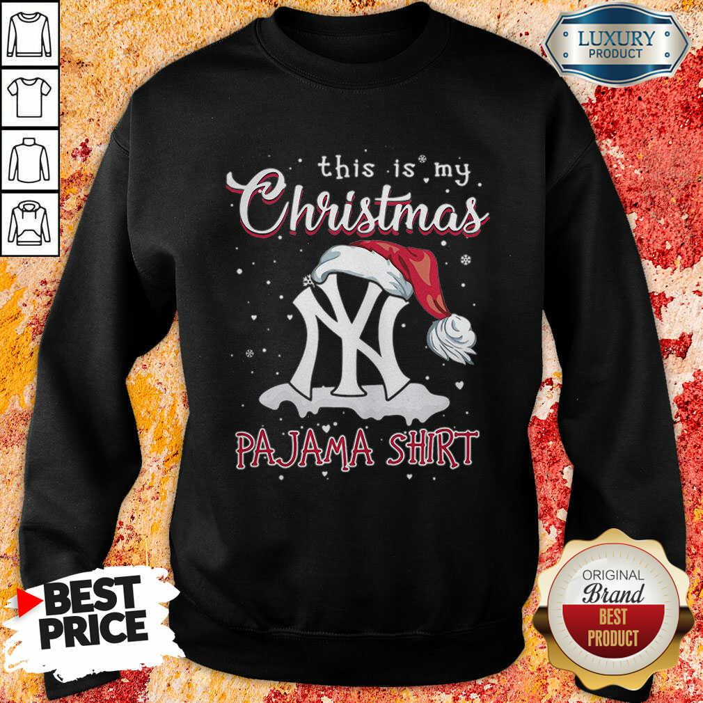 This Is My Christmas Pajama New York Yankees Sweatshirt-Design By Soyatees.com