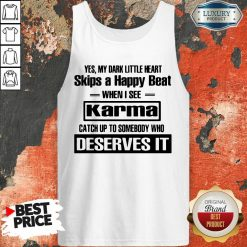 Yes My Dark Little Heart Skips A Happy Beat When I See Karma Tank Top - Desisn By Soyatees.com