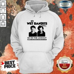 The Wet Bandits Escaped Be On The Lookout Hoodie-Design By Soyatees.com