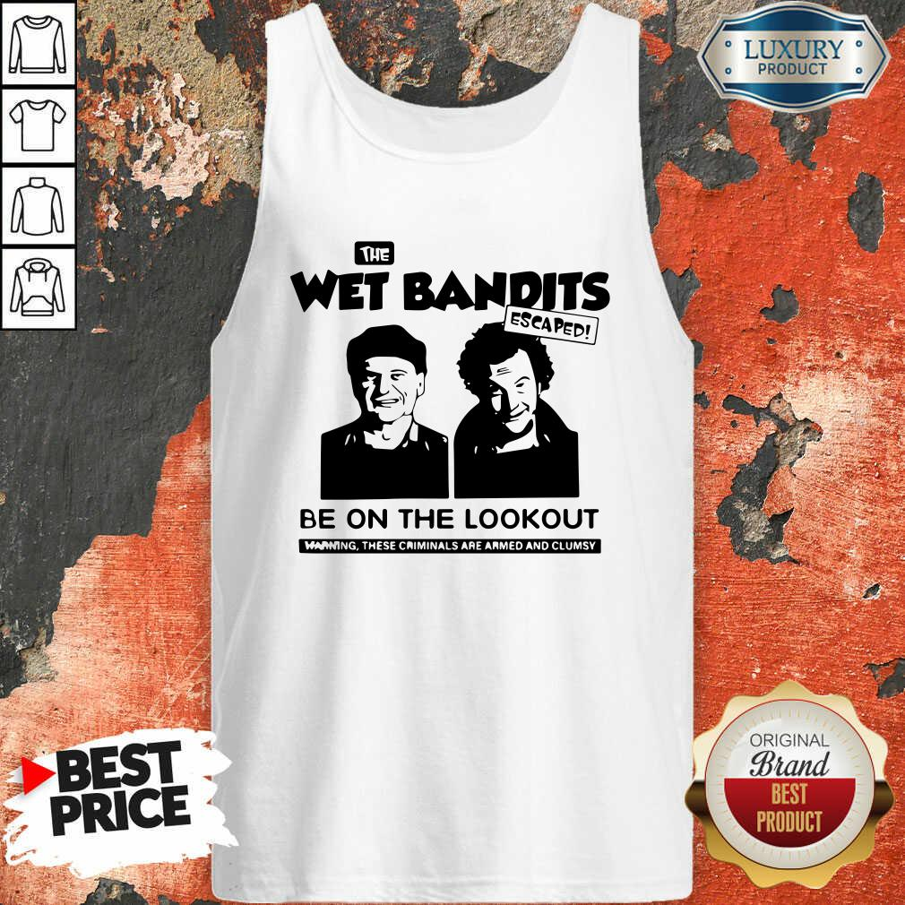 The Wet Bandits Escaped Be On The Lookout Tank Top-Design By Soyatees.com