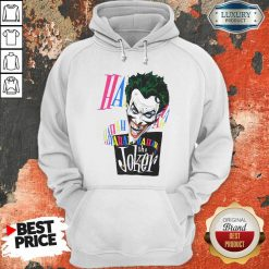 DC Joker Large Brian Bolland Art White 1987 Vintage Hoodie - Desisn By Soyatees.com