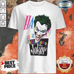 DC Joker Large Brian Bolland Art White 1987 Vintage Shirt - Desisn By Soyatees.com