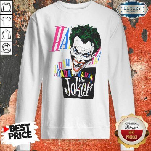 DC Joker Large Brian Bolland Art White 1987 Vintage Sweatshirt - Desisn By Soyatees.com
