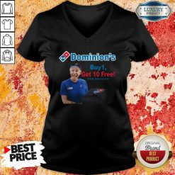 Joe Biden Dominions Buy 1 Get 10 Free 4Am Delivery Only V-neck-Design By Soyatees.com
