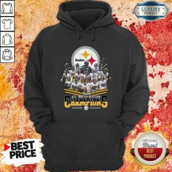 Pittsburgh Steelers 2020 Afc North Division Signatures Hoodie - Desisn By Soyatees.com