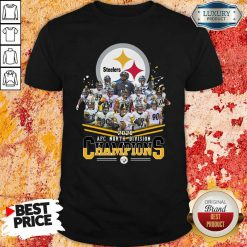 Pittsburgh Steelers 2020 Afc North Division Signatures Shirt - Desisn By Soyatees.com