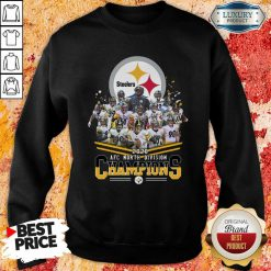 Pittsburgh Steelers 2020 Afc North Division Signatures Sweatshirt - Desisn By Soyatees.com