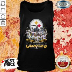 Pittsburgh Steelers 2020 Afc North Division Signatures Tank Top - Desisn By Soyatees.com