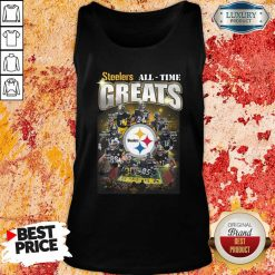 Pittsburgh Steelers Team Football All Time Greats Signatures Tank Top - Desisn By Soyatees.com