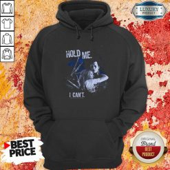 Edward Scissorhands Hold Me I Can'T Hoodie-Design By Soyatees.com