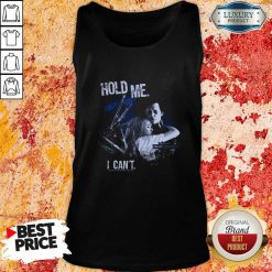 Edward Scissorhands Hold Me I Can'T Tank Top-Design By Soyatees.com