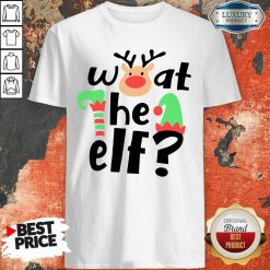 Reindeer What The Elf Christmas Shirt-Design By Soyatees.com