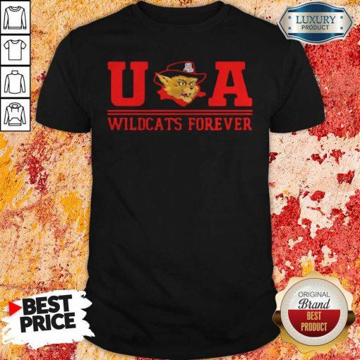 Ua Wildcats Forever Association Hat Black Shirt-Design By Soyatees.com